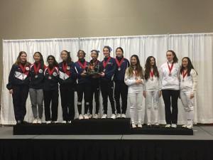 SFFC Women's Foil Team JOs 2:16