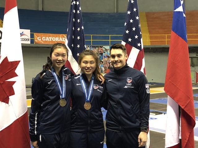 Sabrina Cho Pan Am Gold Medal March 2018